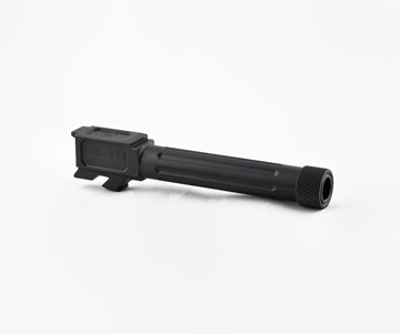 Picture of G19 Match Grade Threaded Fluted Barrel - DLC