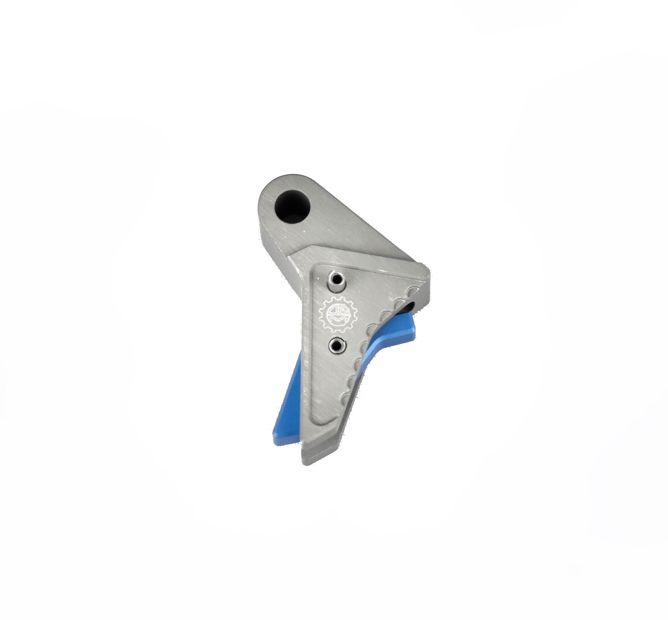 Grey/Blue DEM Gunfighter Trigger™